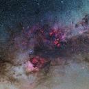 Cygnus Daneb to Sadr,                                Christian Kamber