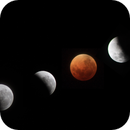Total lunar eclipse montage,                                Andy williams
