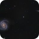 M100 and NGC4312– high res,                                Shannon Calvert
