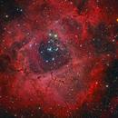Rosette Nebula HaRGB,                                  Alberto Pisabarro
