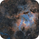 SH2-132 in the Hubble Palette,                    Chuck's Astrophot...
