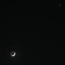 Moon, Aldebaran and Venus,                                Sharif