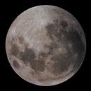 2019 Lunar Eclipse with moon in penumbral eclipse,                                rveregin