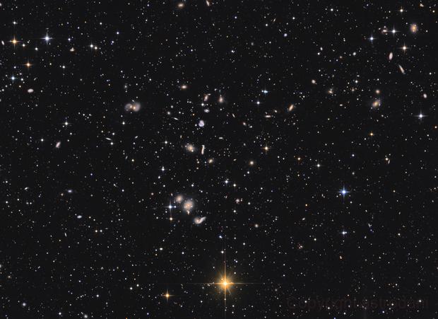 Hercules Galaxy Cluster - Abell 2151,                                astrodan