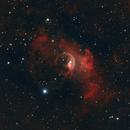 La nébuleuse de la Bulle - NGC7635,                                the9thdoctor