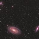 Bode Galaxy Neighbourhood - M81/M82/NGC3077,                                AstroBillUK