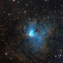NGC 1491 / Sh2-206, HOS_LRGB,                                Big_Dipper