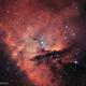 NGC 281 Pacman nebula, bicolor,                                Alexander Sorokin