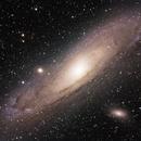 Andromeda Galaxy,                                Stefan