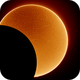 Partial Eclipse in H-Alpha (Chile 2019),                                Luk