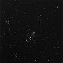 M103 open cluster, survey image,                                erdmanpe