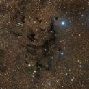 LDN 673 - Lynds' Dark Nebula in Aquila,                                JohnAdastra