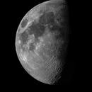 The moon in a 6 panel Mosiac,                                Justin Daniel