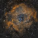Rosette nebula experiments : ASI224MC + Samyang 135mm,                                  netspoon