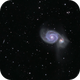M51 The Whirlpool Galaxy,                                Peter Webster