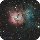 M20 Trifid Nebula,                                Paul Cross