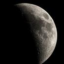 The Moon at 38% Illumination Tonight,                                Chuck's Astrophotography