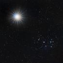 Venus and the Pleiades (M45),                                Eshan Toorabally