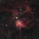 IC417 Ha_RGB,                                Bernd Steiner