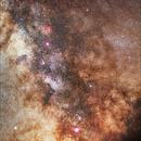 Via Lattea - Milky Way (Sgr - Oph - Ser -Sct),                                PGU (Giuliano Pinazzi)