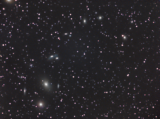 Markarian's chain with Samyang 135,                                Ben