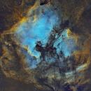 North America and Pelican Nebula,                                Sendhil Chinnasamy