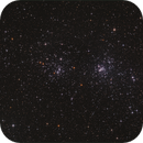 chi Persei - h Persei  double cluster,                                sky-watcher (johny)