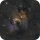 Sh2-155, The Cave Nebula,                                Brice