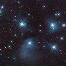 Pleiades - M45,                                Isonicrider