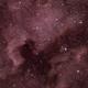 Nebulosas Norte América y Pelícano,                                mbravo