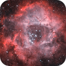 Processing exercise for  SHO / HOO / HA only / with data pool RAW data (Rosette nebula),                                  Marcus Wögerer