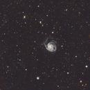 Messier 101 - The Pinwheel Galaxy,                                Kevin