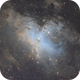Eagle Nebula Pillars of Creation,                                NHAuniverse