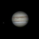 "Jupiter and Ganymede on 2020-07-06 with 5"" Mak,                                Jesco"