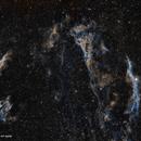 Nebulosa de los Velos (Mosaico 2 teselas),                                José Fco. del Agu...