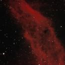 California Nebula Under City Lights,                                psychwolf