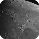 Lunar Mountain Chain and pretty Craters,                                astropical