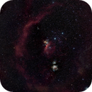 Barnards Loop incl. Orion´s famous nebulae,                                Günther Dick