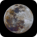 ISS mineral moon transit,                                nicolabugin