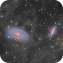 Messier 81 and 82 with lots of surrounding IFN,                                Connor Matherne