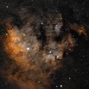 NGC 7822 Bi-Colour (Ha & OIII),                                Chris
