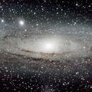 Andromeda Galaxy,                                Charles Ward