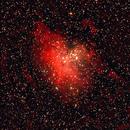 M-16 (NGC-6611) Star cluster & nebula in Serpens,                                Stargazer66207