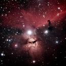 Horsehead Nebula (RGB blended Ha),                                Michelle Bennett