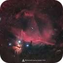 Horsehead Nebula From the Valley of whales in Egypt,                                Mohamed Usama Ismail