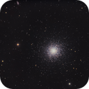 Hercules Globular Cluster (M13,  NGC 6205),                                Chuck's Astrophotography