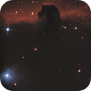Close-up of the Horsehead Nebula,                                John