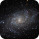 M 33 in One Shot Color,                                Alex Roberts