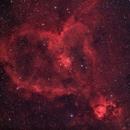Heart Nebula,                                puckja
