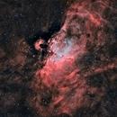 Messier 16 en HOO,                                Georges
